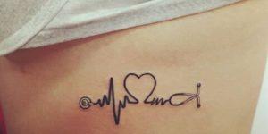 Electrocardiograma con estetoscopio