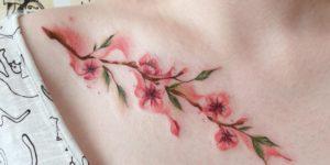 Flores de cerezo por Ksenia Vishnevskaya