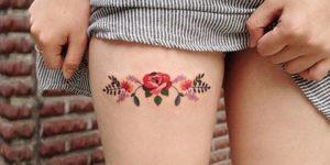 Flores por Zihee Tattoo