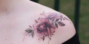Bouquet de flores rosas
