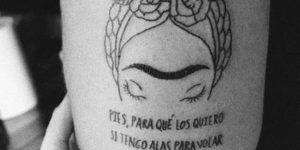Frase: Pies para que los quiero si tengo alas para volar por Frida Kahlo