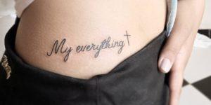 Frase: My everything y Cruz