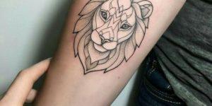 Rostro de león