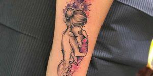 Nombre: Anastacia Madre e Hijo en brazos