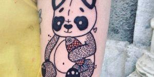 Oso panda por Lia November