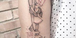 Frase: Tuo Per Sempre, Padre e Hija por Michele Mercuri