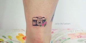 Pequeña cámara de fotos