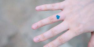 Corazón azul por Seyoon Kim / 김세윤 (@sey8n)
