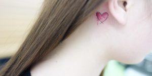 Corazón pequeño por Banul 타투이스트 바늘