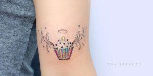Cupcake angelical por Ana Abrahão