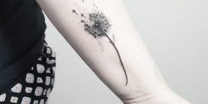 Diente de León por Terryemi Tattoo