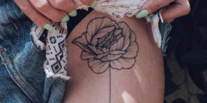 Flor por Sashatattooing
