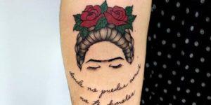 Frase: Donde no puedas amar no te demores por Frida Kahlo