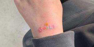 Frase: Smile