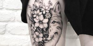 Metamorfosis de lobo por Terryemi Tattoo