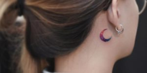 Luna por Tattooist Grain