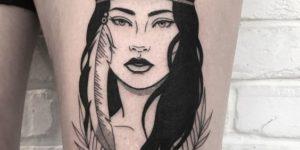 Mujer aborigen