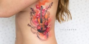 Violín por Jules Boho