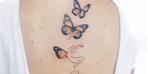 Metamorfosis de una mariposa por Luiza Oliveira