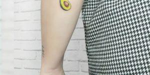 Aguacate por Bida Tattoo Studio