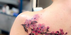 Flores de cerezo por Yasmin Coiado