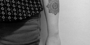Mandala por Nena Tattoo Diana Opazo