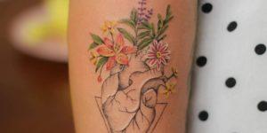 Corazón lleno de vida por Luciana Periard, Art Efeito