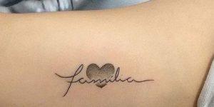 Frase: Familia y corazón