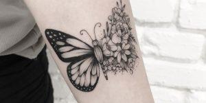 Mariposa en metamorfosis por Terryemi Tattoo