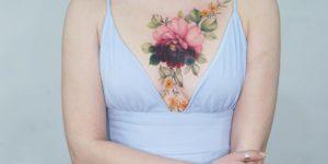 Enredadera de flores por Tattooist Silo