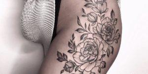 Enredadera de Flores por Miriam Andrea Ink