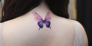 Mariposa por Tattooist Grain