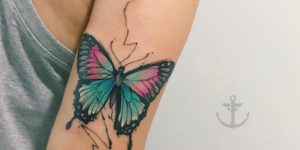 Mariposa por Felipe Bernardes