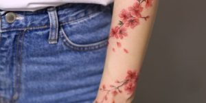 Flores de Cerezo estilo enredadera