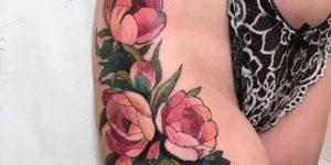 Ramillete flores rosas