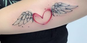 Corazón con alas por Michele Mercuri