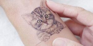 Gatito tierno por Mini Tattoo