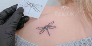 Libélula por Risha Tattoo