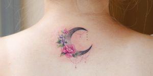Media luna con flores por Studio by sol, Vane