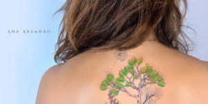 Árbol frondoso por Ana Abrahão