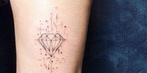 Diamante por Ana Abrahão