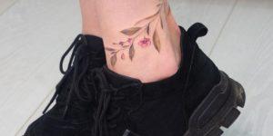 Enredadera de Flores por Anna Botyk