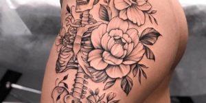 Calavera y Flores por Jai Cheong