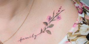 Frase: Family y Flores por Anna Botyk