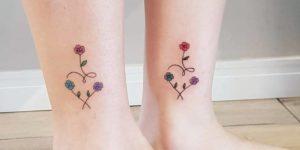 Corazón de flores por Mariana Zaragoza