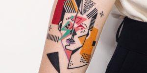 David Bowie por Hen Tattooer