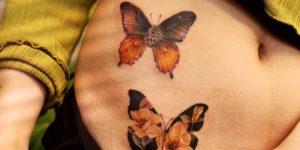 Mariposas por Chaewha Tattoo