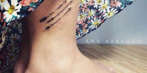 Tres flechas por Ana Abrahão