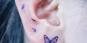 Mariposas revoloteando por Tattooist Color B