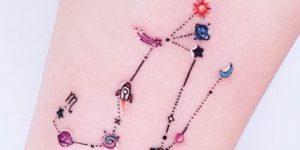 Signo del Zodíaco: Escorpio y Tauro para parejas por Alynana Tattoos